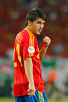 Photo: Glyn Thomas.<br />Spain v Tunisia. FIFA World Cup 2006. 19/06/2006.<br /> Spain's David Villa.