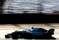 March 23, 2018 - Melbourne, Victoria, Australia - SIROTKIN Sergey (rus), Williams F1 Mercedes FW41, action during 2018 Formula 1 championship at Melbourne, Australian Grand Prix, from March 22 To 25 - Photo  Motorsports: FIA Formula One World Championship 2018, Melbourne, Victoria : Motorsports: Formula 1 2018 Rolex  Australian Grand Prix, (Credit Image: © Hoch Zwei via ZUMA Wire)