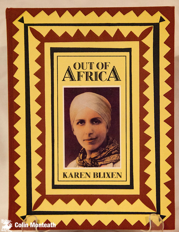 OUT OF AFRICA, Karen Blixen, Century Publishing, London, 1986, ( first published 1937 and still in print today) - 288 page hardback, VG+ embossed covers with inset portrait, profusely illustrated with photos, artwork and diagrams, one of the loveliest books on eastern Africa, doubly so in this edition...this is how books should be published - $NZ65