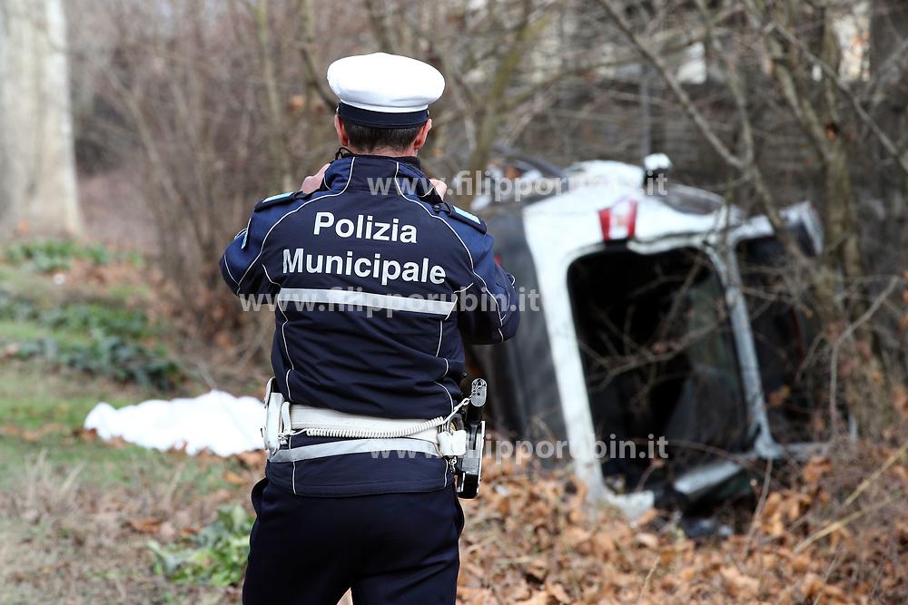 INCIDENTE MORTALE FRANCO BORGHI TRESIGALLO
