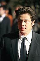 Benicio Del Toro at the Holy Motors gala screening, red carpet at the 65th Cannes Film Festival France. Wednesday 23rd May 2012 in Cannes Film Festival, France.