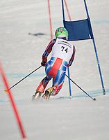 US Telemark Championships 2nd run giant slalom at Gunstock March 9, 2012.