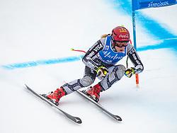 19.12.2018, Saslong, St. Christina, ITA, FIS Weltcup Ski Alpin, SuperG, Damen, im Bild Ester Ledecka (CZE) // Ester Ledecka of Czech Republic in action during her run in the ladie's Super-G of FIS ski alpine world cup at the Saslong in St. Christina, Italy on 2018/12/19. EXPA Pictures © 2018, PhotoCredit: EXPA/ Johann Groder