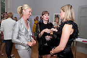 TAMARA BECKWITH;; ANOUSKHA BECKWITH; HOLLY VALLANCE  Elizabeth Arden.-100th anniversary party. 33 Fitzroy Square, London W1, 29 June 2010. DO NOT ARCHIVE-© Copyright Photograph by Dafydd Jones. 248 Clapham Rd. London SW9 0PZ. Tel 0207 820 0771. www.dafjones.com.