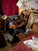 Jackie Edwards at home in Kingston