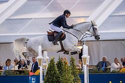 Demeersman Dirk, BEL, Alessi Z<br /> Belgisch Kampioenschap Jumping  <br /> Lanaken 2020<br /> © Hippo Foto - Dirk Caremans<br /> 05/09/2020