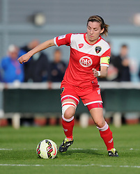 Bristol Academy's Grace McCatty - Photo mandatory by-line: Paul Knight/JMP - Mobile: 07966 386802 - 09/05/2015 - SPORT - Football - Bristol - Stoke Gifford Stadium - Bristol Academy Women v Arsenal Ladies FC - FA Women's Super League