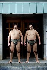 Tokyo: Sumo Wrestlers - 13 June 2017