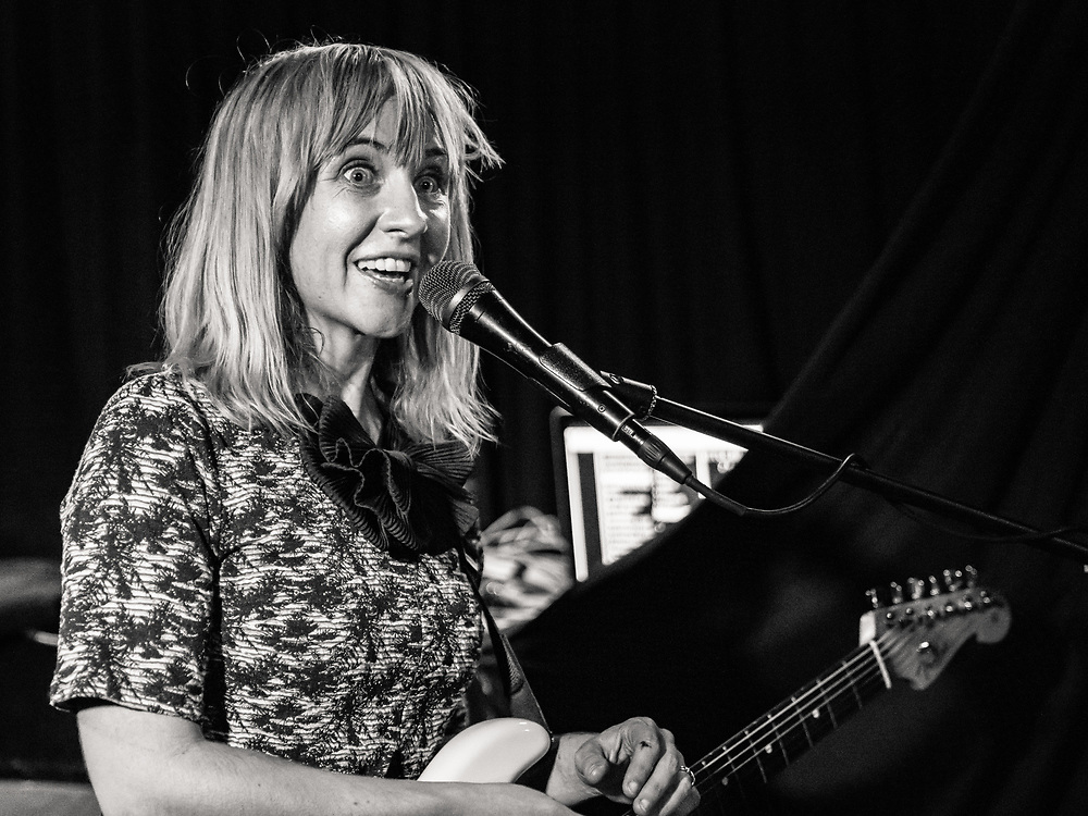 Ritzy Bryan of Welsh indie-rock band The Joy Formidable at Blue Shell in Cologne