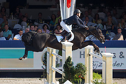 Bruynseels Niels (BEL) - Filou D <br /> Belgian Championship<br /> FEI World Breeding Jumping Championships for Young Horses - Lanaken 2014<br /> © Dirk Caremans