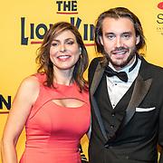 NLD/Scheveningen/20161030 - Premiere musical The Lion King, Heleen van Royen en partner Bart Meeldijk