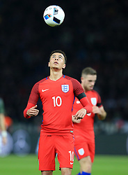 Englands Dele Alli juggles the ball - Mandatory by-line: Matt McNulty/JMP - 26/03/2016 - FOOTBALL - Olympiastadion - Berlin, Germany - Germany v England - International Friendly