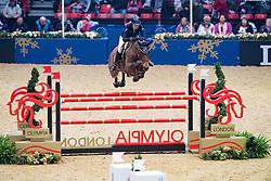 Mendoza Jessica, GBR, Constance<br />  The Shelley Ashman International Ltd, EM Rogers (Transport) Ltd Father Christmas Stakes<br /> Olympia Horse Show -London 2016<br /> © Hippo Foto - Jon Stroud<br /> 17/12/16