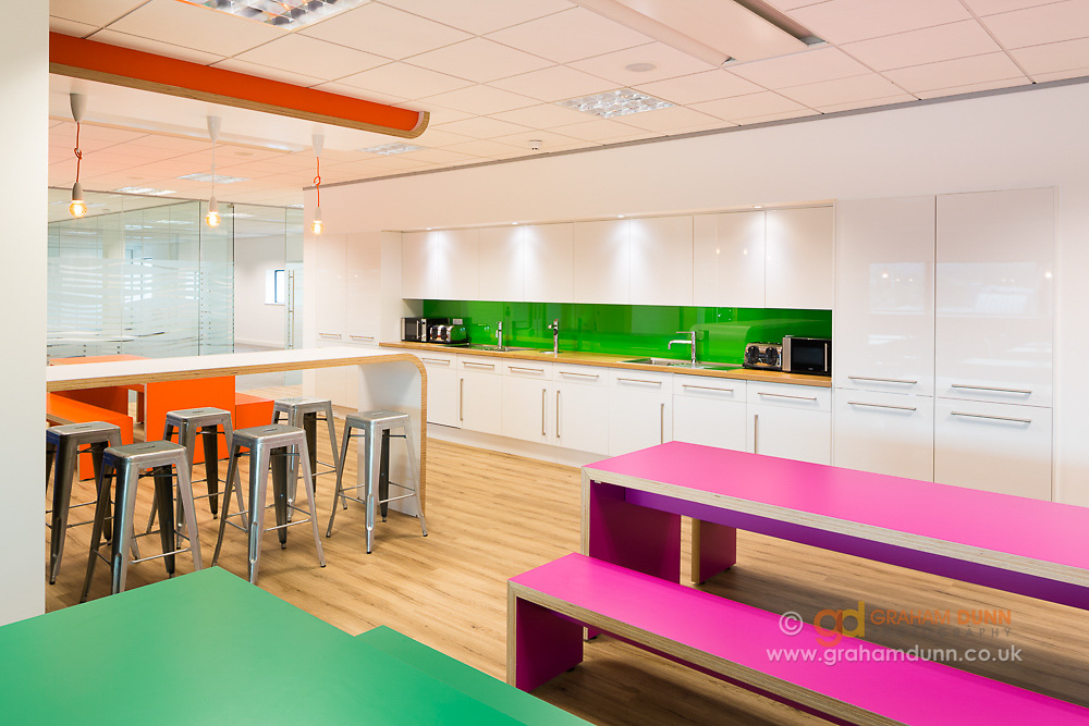 Office interior photography - Sheffield