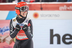 28.02.2021, Oberstdorf, GER, FIS Weltmeisterschaften Ski Nordisch, Oberstdorf 2021, Mixed Teambewerb, Skisprung HS106, im Bild Katharina Althaus (GER) // Katharina Althaus (GER) during the ski jumping HS106 mixed team competition of FIS Nordic Ski World Championships 2021 in Oberstdorf, Germany on 2021/02/28. EXPA Pictures © 2021, PhotoCredit: EXPA/ Tadeusz Mieczynski