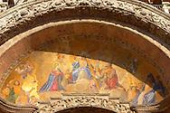 St Marks Basilica - Mosaic of Christ - Venice - Italy