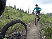 SHOT 8/5/17 2:31:38 PM - GoPro Hero 5 photos while riding Brian Head Resort in Brian Head, Utah with Vesta Lingvyte of Denver, Co. (Photo by Marc Piscotty / © 2017)