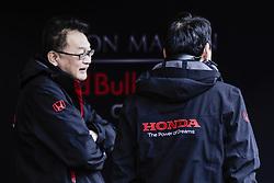 March 1, 2019 - Barcelona, Barcelona, Spain - Honda engineers during the Formula 1 2019 Pre-Season Tests at Circuit de Barcelona - Catalunya in Montmelo, Spain on March 1. (Credit Image: © Xavier Bonilla/NurPhoto via ZUMA Press)