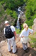 Shenandoah National Forest hike waterfall backpack