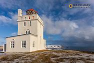 Dyrholaey Lighthouse near Vik, Iceland