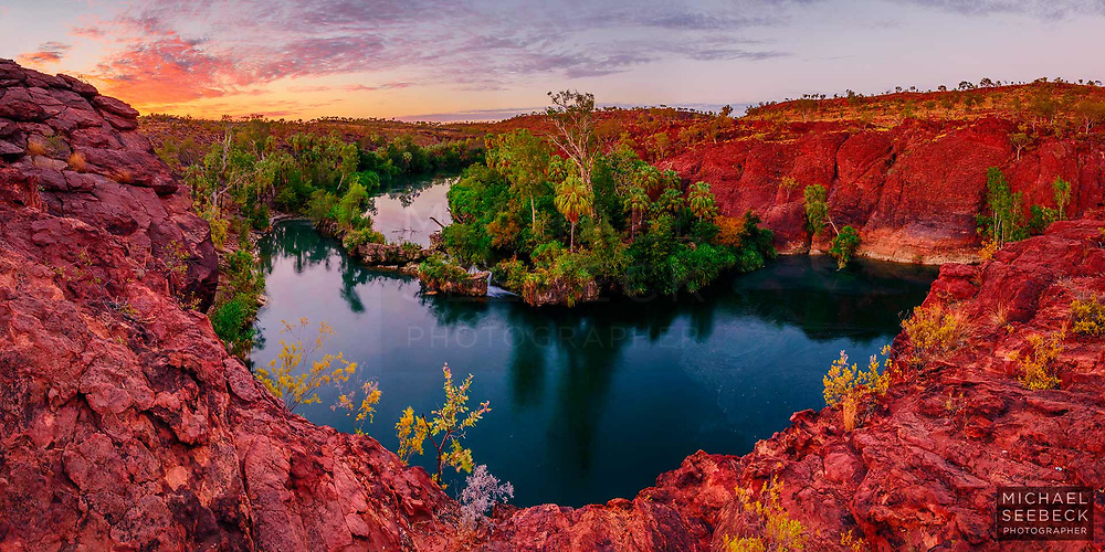 Dawn over Lawn Hill Gorge, North-Western Queensland<br /> <br /> Code: BAQG0001<br /> <br /> Limited Edition of 125