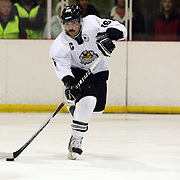 Mitchell Frear, New Zealand, in action during the China V New Zealand match during the 2012 IIHF Ice Hockey World Championships Division 3 held at Dunedin Ice Stadium. Dunedin, Otago, New Zealand. 21st January 2012. Photo Tim Clayton