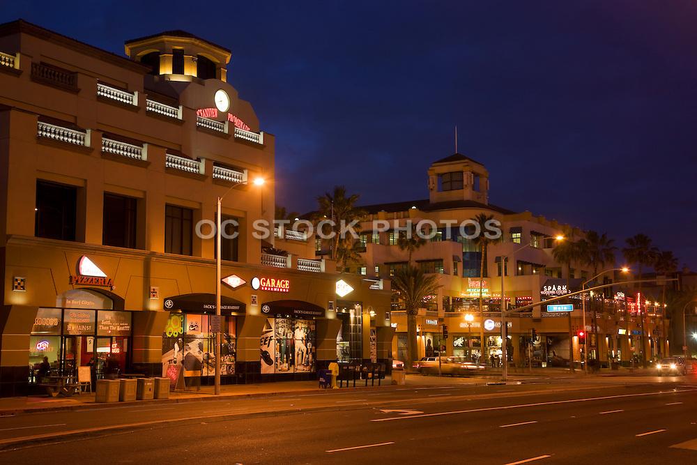 Downtown Huntington Beach Orange County, California