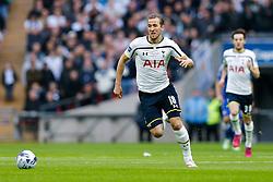 Harry Kane of Tottenham Hotspur in action - Photo mandatory by-line: Rogan Thomson/JMP - 07966 386802 - 01/03/2015 - SPORT - FOOTBALL - London, England - Wembley Stadium - Chelsea v Tottenham Hotspur - Capital One Cup Final.