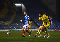 Football - 2020 / 2021 Sky Bet League One - Portsmouth vs AFC Wimbledon - Fratton Park<br /> <br /> Portsmouth's Tom Naylor.<br /> <br /> COLORSPORT