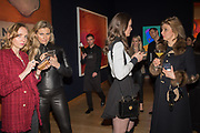 VERONICA BURGESS, MAGDALENA WAHID,  SCARLETT CAUDWELL-BURGESS, JANE BURGESS,   The George Michael Collection drinks.  Christie's, King St. London, 12 March 2019