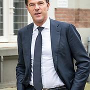 NLD/Amsterdam/20171014 - Besloten erdenkingsdienst overleden burgemeester Eberhard van der Laan, premier Mark Rutte