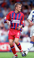 Simon Rodger - Palace. Crystal Palace v Queens Park Rangers. Football League Division One, 20/08/2000. Credit: Colorsport / Matthew Impey.