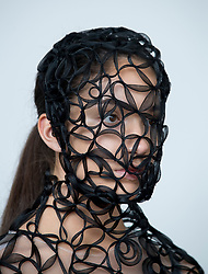 Pictured: design by student Inga Keralerova.<br /> <br /> Students studying fashion design at Glasgow School of Art previewed their work before their annual degree show.<br /> <br /> © Dave Johnston / EEm