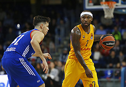 January 19, 2017 - Barcelona, Catalonia, Spain - Thomas Heurtel and Tyrese Rice during the match between FC Barcelona and Anadolu Efes, corresponding to the week 17 of the Euroleague, on 19 January  2017. (Credit Image: © Joanvalls/NurPhoto via ZUMA Press)
