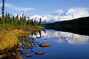 Wonder Lake & Mt. McKinley reflections - Denali N.P., Alaska