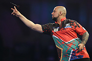 Devon Peterson during the World Darts Championships 2018 at Alexandra Palace, London, United Kingdom on 27 December 2018.