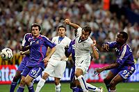 Paris/Parigi 6/9/2006 Stade de France Eliminatorie Euro 2008. France Italy 3-1 Francia Italia 3-1. Photo Andrea Staccioli INSIDE/Digitalsport<br /> Alberto GILARDINO segna il gol dell'Italia. Alberto GILARDINO scores for Italy<br /> Norway only