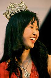 Luciana Hikari Kuamoto, 20 anos, de Porto Alegre, é a nova Miss Nikkei RS 2008. A festa foi mais do que uma noite de desfiles. Shows de dança e apresentações de karaokê fizeram do evento um grande palco da cultura japonesa no Estado. FOTO: Itamar Aguiar / Preview.com
