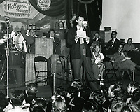1944 Orson Wells at the Hollywood Canteen