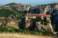 Grèce, Thessalie, Monastères des Météores, classés Patrimoine Mondial de l'UNESCO, // Greece, Thessaly, Meteora, Uesco World Hertitage