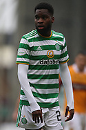 Odsonne Édouard (Celtic) during the Scottish Premiership match between Motherwell and Celtic at Fir Park, Motherwell, Scotland on 8 November 2020.