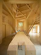 Modern wooden home interiors