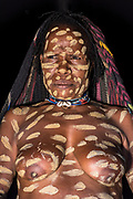 Dani tribe woman (Nisiluk)<br /> Jiwika village<br /> Suroba<br /> Trikora Mountains<br /> West Papua<br /> Indonesia