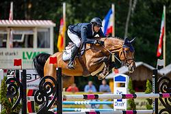 SCHOELLHORN Philipp (GER), Checkmate 14<br /> 2. Qualifikation 5jährige Pferde<br /> Warendorf - Bundeschampionate 2020<br /> 28. August 2020<br /> © www.sportfotos-lafrentz.de/Stefan Lafrentz