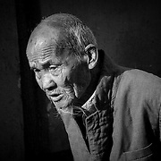 Wise old man, Beijing, China (May 2004)