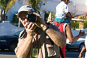 """17 January 2011-Santa Barbara, CA: Pre-March Program and Rally for MLK Jr. in De La Guerra Plaza.  """"Retelling the Story"""", Santa Barbara Honors Dr. Martin Luther King Jr. on January 17, 2011 in Santa Barbara, California.  .-Pre-March Program and Rally at De La Guerra Plaza in front of Santa Barbara City Hall followed by a march up State Street to the Arlington Theatre...Arlington Theatre Program:.-""""New Cats"""", Santa Barbara Youth  .Music Academy.-Invocation, Pastor Louis Watkins.-""""Lift Every Voice and Sing, Mass Choir.-Welcome, Isaac Garrett.-Introduction of Video, Minister Gwendolyn Hampton.-Video Presentation, Dr King's Early Ministry.-Presentation of Essay & Poetry Contest Winners, Sojourner Kincaid Rolle and Anais Borg-Marks.-Musical Selection, Voices of Greater Hope Youth Choir.-Introduction of Local Elected Officials, Pastor Louis Watkins and Wallace Shepherd Jr..-Presentation of Essay and Poetry Contest Winners, Sojourner Kincaid Rolle and Anais Borg-Marks.-Introduction of Video, Kimberly Martinez and Nya Burke.-Video Presentation """"The Struggle"""".-""""Precious Lord"""", Juan Turner & Lazandria Richey.-Dance Presentation, Zabra Russell.-Introduction of Keynote Speaker, Sojourner Kincaid Rolle.-Keynote Address, Dr. Gloria Willingham, Ph. D..-Medley, Mass Choir directed by Juan Turner.-Introduction of Video, Kimberly Martinez, Nya Burke.-Video Presentation, """"I Have a Dream"""".-""""We Shall Overcome"""", Mass Choir & Audience.-Benediction, Pastor Wallace Shepherd, Jr...Following the program there was a """"Free Community Lunch"""", at First United Methodist Church in Santa Barbara, CA..Photos by Rod Rolle"""