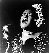 Billie Holiday (1915-1959, born Eleanora Fagan)  African American jazz singer and songwriter.