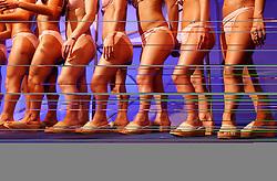 Women's legs. (Photo by Vid Ponikvar / Sportal Images)
