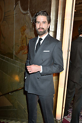 JACK GUINNESS at the WGSN Global Fashion Awards 2015 held at The Park Lane Hotel, Piccadilly, London on 14th May 2015.