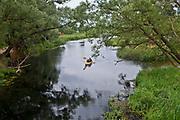Ukta. 2012-08-19. Splyw kajakowy po rzece Krutyni